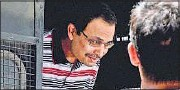 ?? PTI ?? Suspended TMC MP Kunal Ghosh, one of the accused in the case, being produced in a Kolkata court in September.