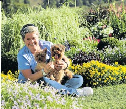 ??  ?? Tanya Visser wishes she could inspire more young people to love gardening.