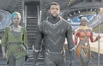 ??  ?? Black Panther ha alcanzado más de 1.300 millones de dólares en taquilla