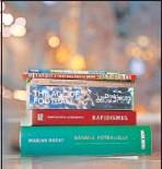 ??  ?? Libros de fútbol.