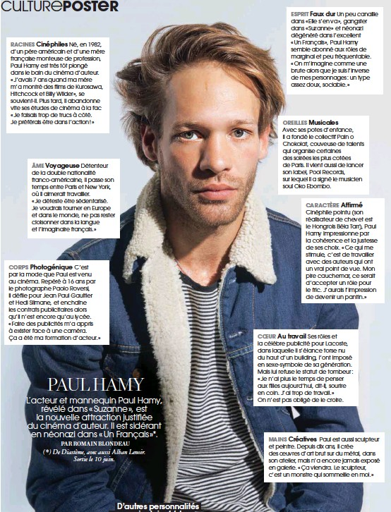 Pressreader Marie Claire 2015 06 04 Poster Paul Hamy