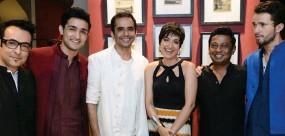 ??  ?? Mukesh Sawlani, Raj Suri, Ashish Bisht, Arpita Pal, Onir and Simon Frenay