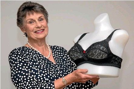 ??  ?? Fit 4 U owner Marlene Dent says the Beauty Bra gave her the comfort and support she had always wanted but failed to find in a bra.