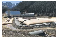 ?? Bruce Finley, Denver Post file ?? This EPA-run water-treatment plant sits below the Gold King Mine.