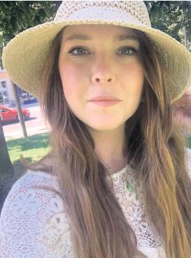?? Bild: Privat ?? Hanna Suomalainen drabbades av malignt melanom som 27-åring. Nu har hon engagerat sig i Melanomföreningen för att sprida kunskap.