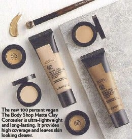 Flawless makeup essentials from The Body Shop