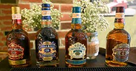 ??  ?? Variants of Chivas Whiskies