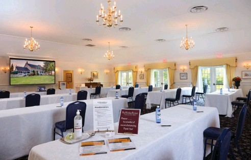 ?? SUPPLIED ?? Having a detailed health and safety plan is key to understanding how seriously a meeting venue is treating the risk of contagion. The Waring House has 26 steps in the cleaning process for each of its rooms.