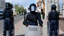 ??  ?? Algunas calles y estaciones de suburbano de Minsk están cerradas por la policía.
