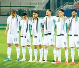 ??  ?? Les Verts, malgré l'absence de plusieurs joueurs, ont réalisé une belle performance