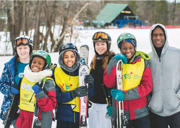 ??  ?? Share Yes—youth Winter Enrichment grantee Services—exposes roughly 800 Bostonarea kids to snowsports every winter.