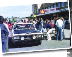 ??  ?? The Cusack Monaro was a crowd favourite in the Victorian rally scene for many years.