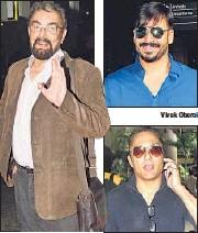 ??  ?? Kabir Bedi Rahul Bose Vivek Oberoi