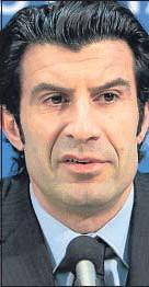 ??  ?? LUIS FIGO Exdelantero portugués que fue estrella del Barcelona, del Madrid y de Inter de Milán