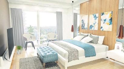 ??  ?? DORMITORIOS. Con detalles de confort y pisos en porcelanato símil madera.