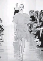 ?? JP YIM, GETTY IMAGES, FOR KERASTASE ?? Wu looked to midcentury styles and stylemakers for inspiration.
