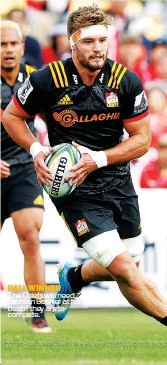 ??  ?? BALL WINNER The Chiefs will need Lachlan Boshier at his best if they are to compete.