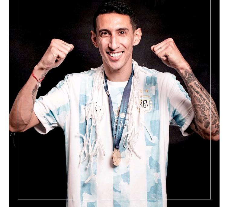 """?? @copaamerica ?? Nada de conformarse: """"Quiero seguir en la selección más que antes. Ahora voy por Qatar"""", avisa Ángel Di María, el goleador en el Maracaná"""