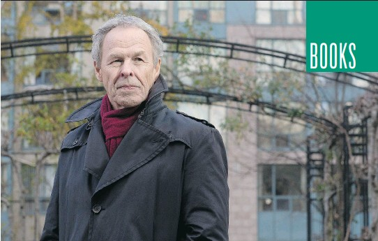 ?? LAURA PEDERSEN/POSTMEDIA NEWS ?? 'I've never really had a problem switching hats, because it's all a storytelling hat,' says author and former broadcaster Linden MacIntyre.
