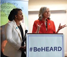 ?? Herald staFF File ?? BILLS GOING NOWHERE: U.S. Reps. Ayanna Pressley, left, and Katherine Clark were among the least effective members of Congress in the last session, according to a study done by Vanderbilt University and the University of Virginia.