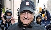 ?? Justin Lane European Pressphoto Agency ?? 'STAGGERING HUMAN TOLL' Madoff swindled billions from large institutions, charities, celebrities and other wealthy investors.