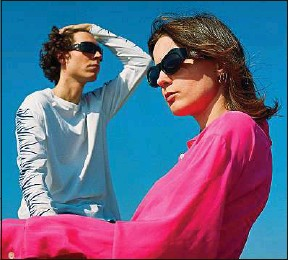 ??  ?? Vickie Chérie et Léo Bear Creek, alias The Pirouettes, ont sorti leur 3e album.