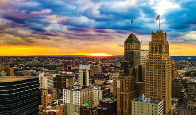 """?? HARRY PROTT/GREATER NEWARK CONVENTION & VISITORS BUREAU ?? It's the dawn of a new era for Newark, N.J. """"A lot of culture. A little bit of grit,"""" is how one civic booster sold the city."""