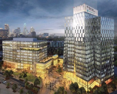 ?? Ayers Saint Gross ?? Atrium Health has taken another step toward bringing a four-year medical school to Charlotte.