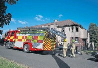 ??  ?? Six fire crews were sent to the scene