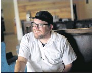 """?? DEAN HOFFMEYER/ TIMES-DISPATCH ?? Jason Alley hopes to fix a """"disconnect"""" between City Hall and small-business owners including restaurateurs."""