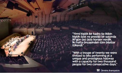 ??  ?? Dimitris Arampatzis Cafe Aman İstanbul Konseri - Cafe Aman Istanbul Concert - MEGARON CONCERT HALL - Atina