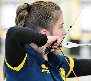 ??  ?? Die Resultate im Training stimmen Mariya Shkolna optimistisch.
