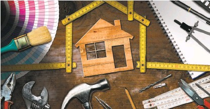?? Shutterstock ?? Home improvement projects to match any time frame and budget.