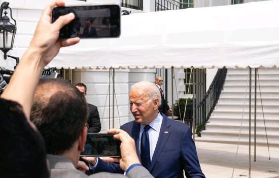 ?? © nyt ?? De toch al moeilijke relatie tussen Facebook en Joe Biden en het Witte Huis is snel aan het verzuren.