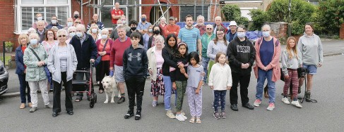 ?? James Beck ?? Residents of Northville Road in Filton have said the ever increasing number of HMOs has had a detrimental effect on the character of the area