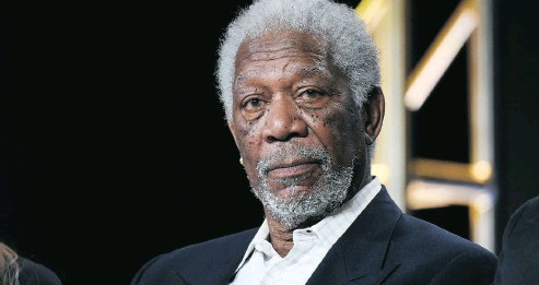 ?? RICHARD SHOTWELL / INVISION / AP, FILE ?? A CNN report last week implicated Morgan Freeman for his alleged sexual harassment of several women.