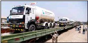 ?? File photo ?? LMO tanker onboard the wagon