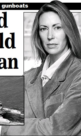 ??  ?? Linda Davies: The mother-of-three was terrified by her ordeal