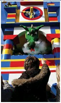 ??  ?? Entry: The park has 11 themed lands, including Duplo Valley