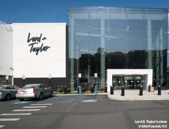 ??  ?? Lord & Taylor's store in Manhasset, N.Y.