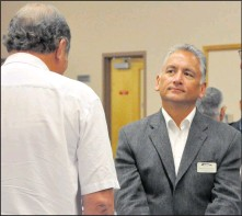 ?? File photo ?? Barry Morishita will be listening to Albertans' concerns, only now as leader of the Alberta Party.
