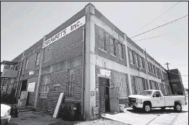 ?? GREGORY J. GILLIGAN/TIMES-DISPATCH ?? LEFT: Caravati's 38,000-square-foot, two-story warehouse at 104 E. Second St. in South Richmond is under contract to be sold.