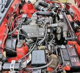 ??  ?? BBR breathed on the Isuzu Piazza Turbo to turn it into a discreet road-burner, says Brodie