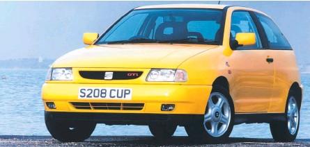 ??  ?? Seat Ibiza GTI Cupra Sport.