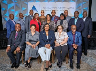 ??  ?? the ELC board of Directors. tonie Leatherberry, board chair, front row center; Crystal E. Ashby, interim president and CEO, second row center.