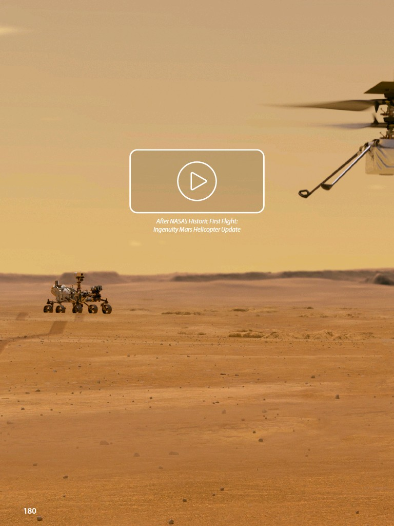 ??  ?? After NASA'S Historic First Flight: Ingenuity Mars Helicopter Update