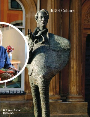??  ?? W.B. Yeats Statue, Sligo Town.