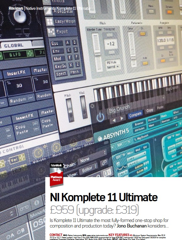 ni komplete 10 system requirements