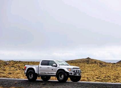 ??  ?? Ford F150 - AT44 er glaesilegur bíll. Léttur og þaegilegur í akstri. Haegt er að setja hús á pallinn fyrir þá sem það vilja.