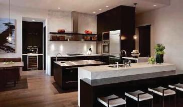 Dapur Yang Sentiasa Bersih Menawarkan Kitaran Segar